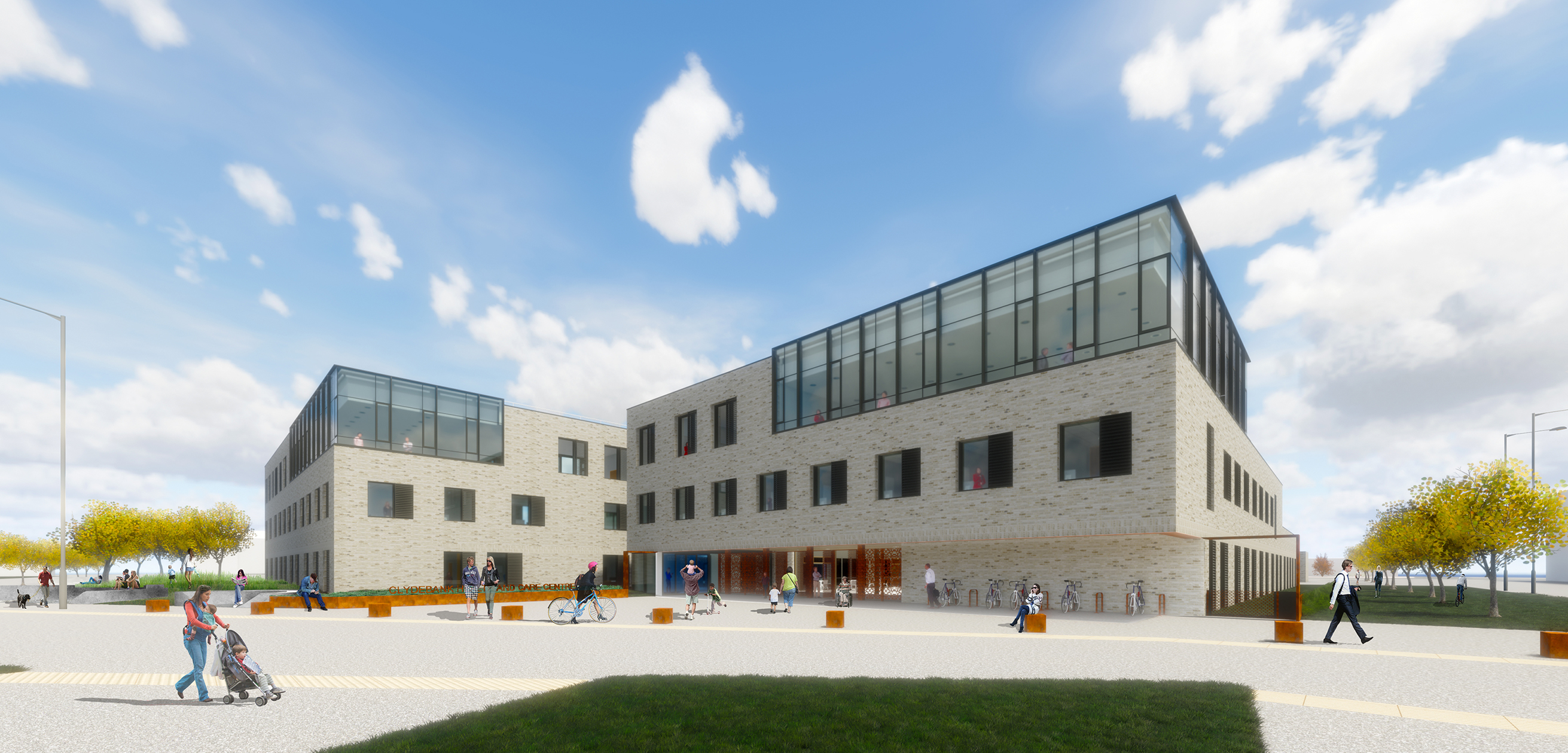 Council approves £19M Clydebank Health and Care Centre
