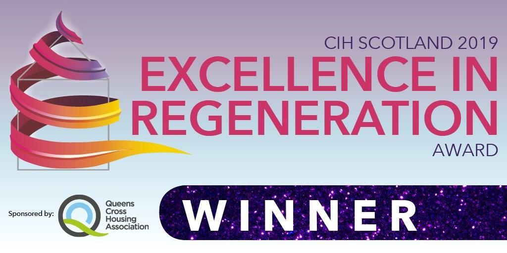 Laurieston wins 'Excellence in Regeneration' award