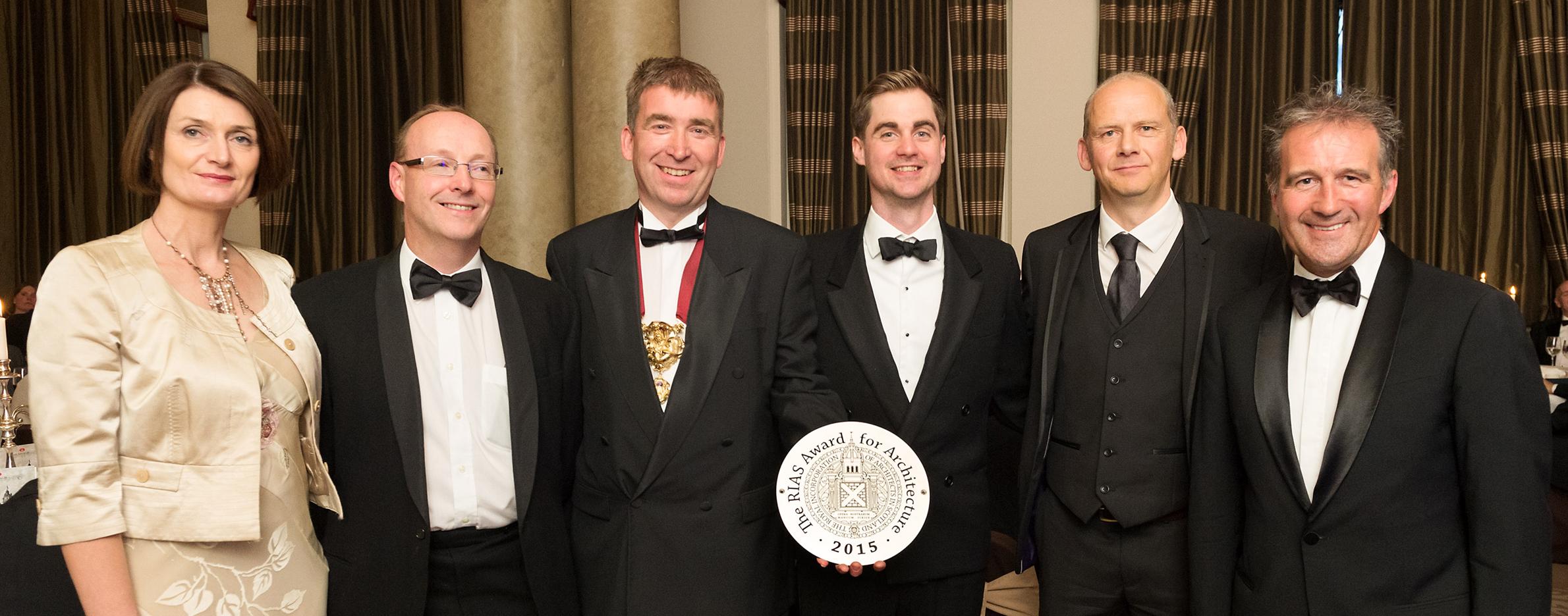 Shields Centre Wins RIAS Award