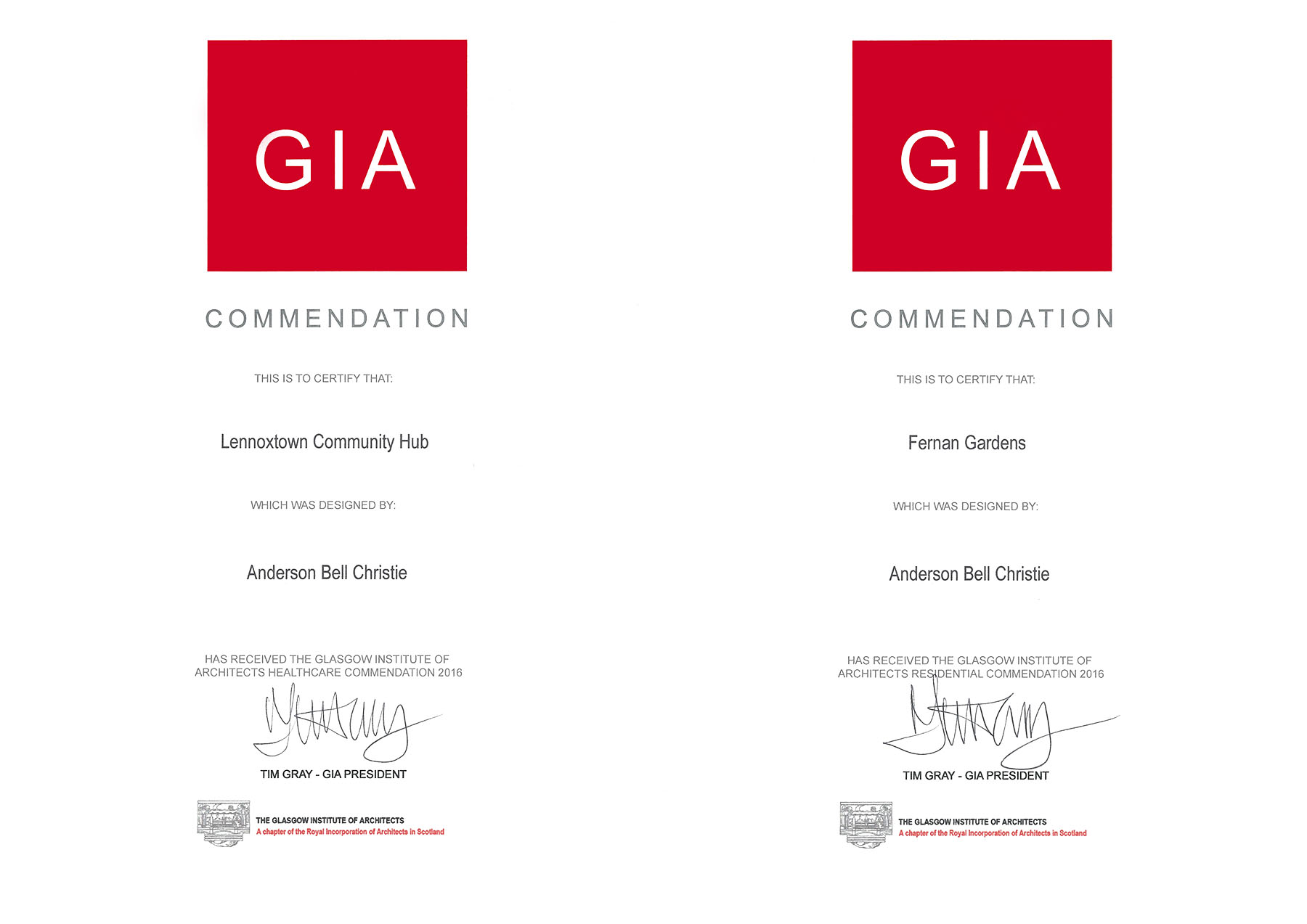 GIA Awards